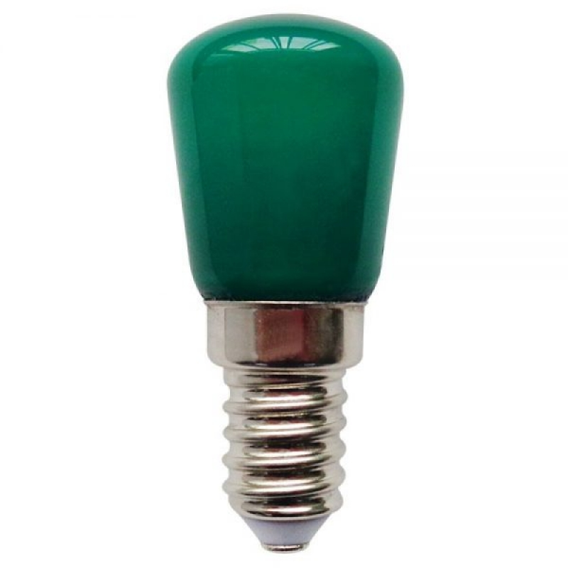 Bell LED Coloured Pygmy 1W SES/E14 Green 02654