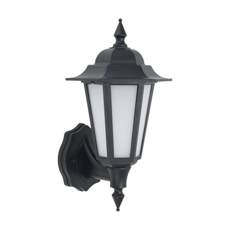 Bell Retro Vintage Integrated LED Lantern Black IP54 Rated 10350