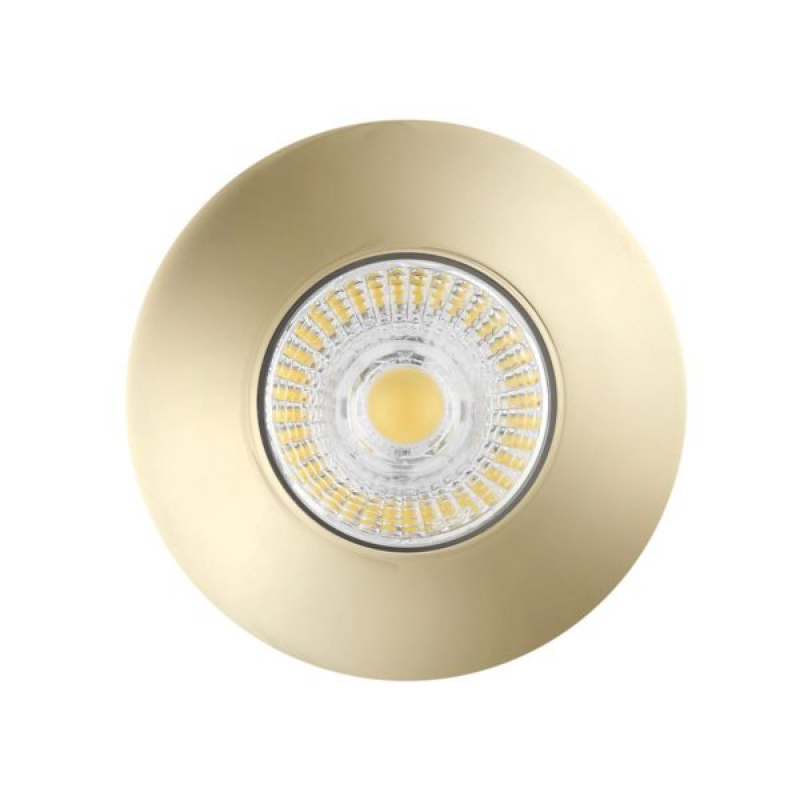 Bell 10664 Firestay Fixed MV Downlight Brass