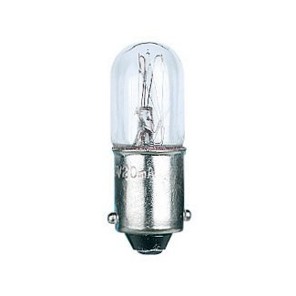 6Volt 4Watt Tubular BA9s Lamp