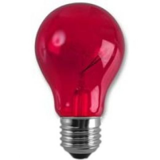 Crompton Harlequin Red 25Watt 240V ES Lamp