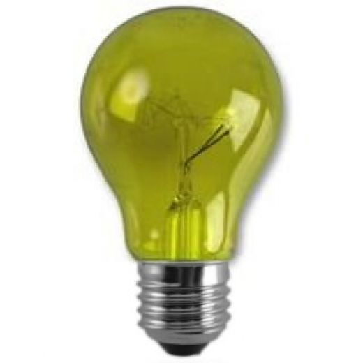Crompton Harlequin Yellow 25Watt 240V ES Lamp