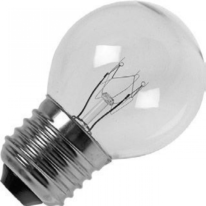 60 watt ES-E27mm Clear Golfball Light Bulb