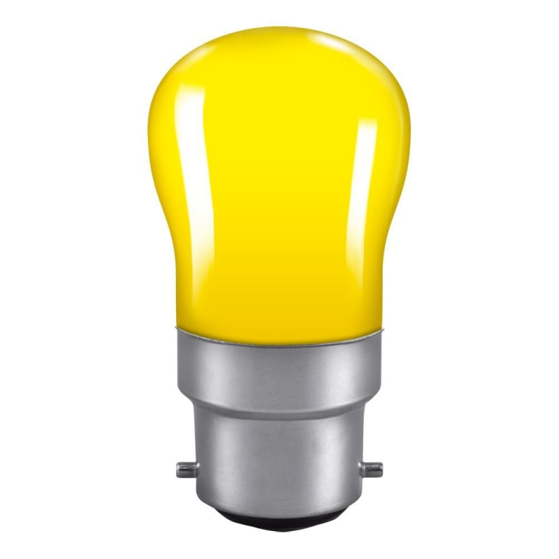 Yellow Pygmy Sign 15Watt BC Lamp