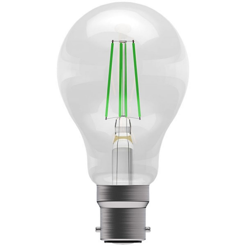 BELL 60065 4W Green Coloured LED Filament GLS BC/B22 Bulb