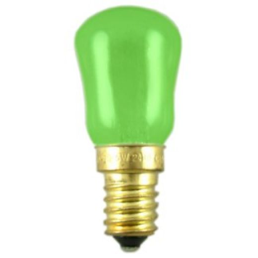 Green 15W SES/E14 Pygmy  Sign Lamp