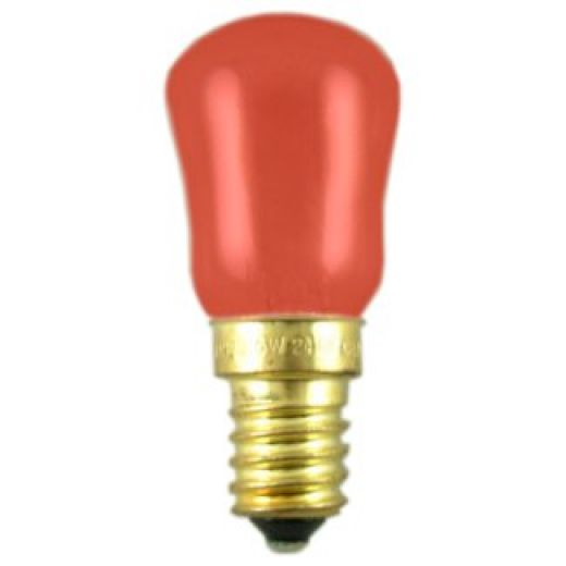 Red 15W SES/E14 Pygmy  Sign Lamp