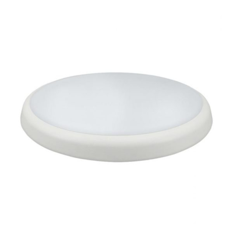Melana 18W 4000K Cool White Slim LED Bulkhead IP54 8892