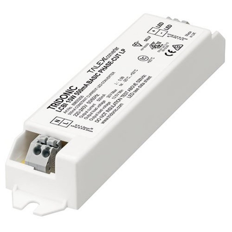 Tridonic LED Driver LCBI 15W 350/500/700mA BASIC phase-cut lp