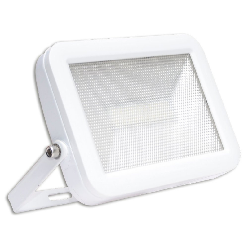 LyvEco White IP65 30W LED Slim Floodlight 6500K 9713W