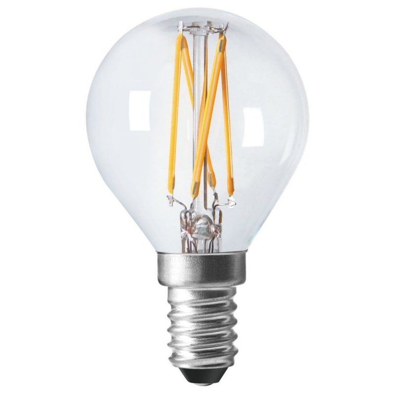 Amitex AX431 3.5W Dimmable Filament Golfball lamp E14/SES 2700K