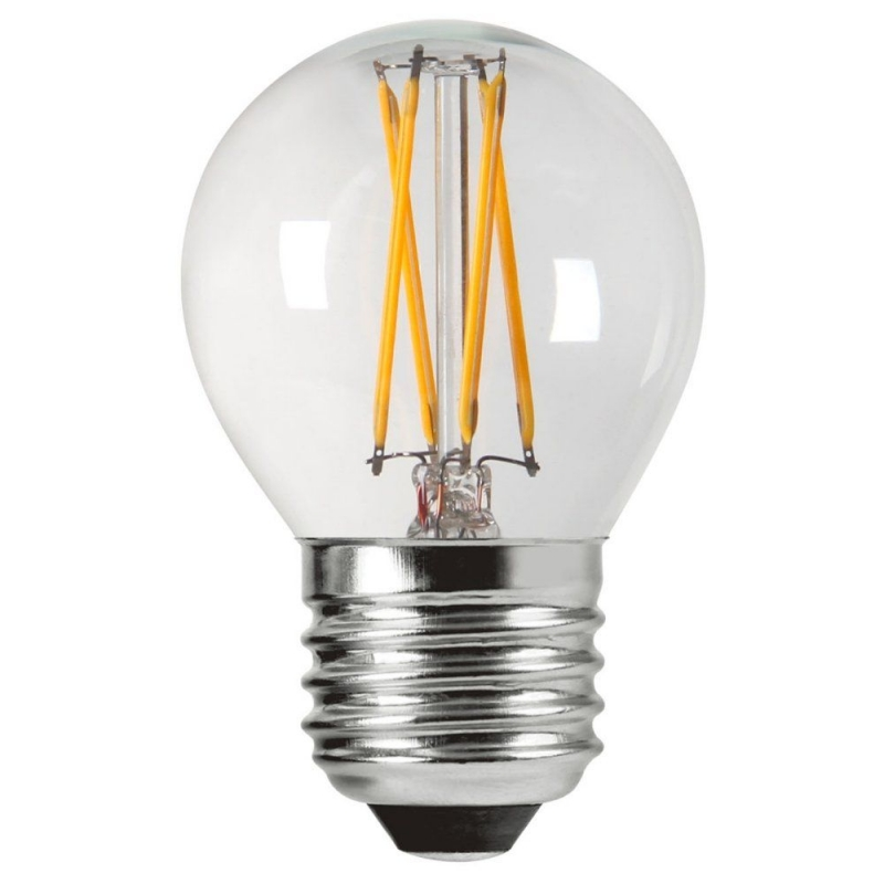 Amitex AX432 3.5W Dimmable Filament Golfball lamp E27/ES 2700K
