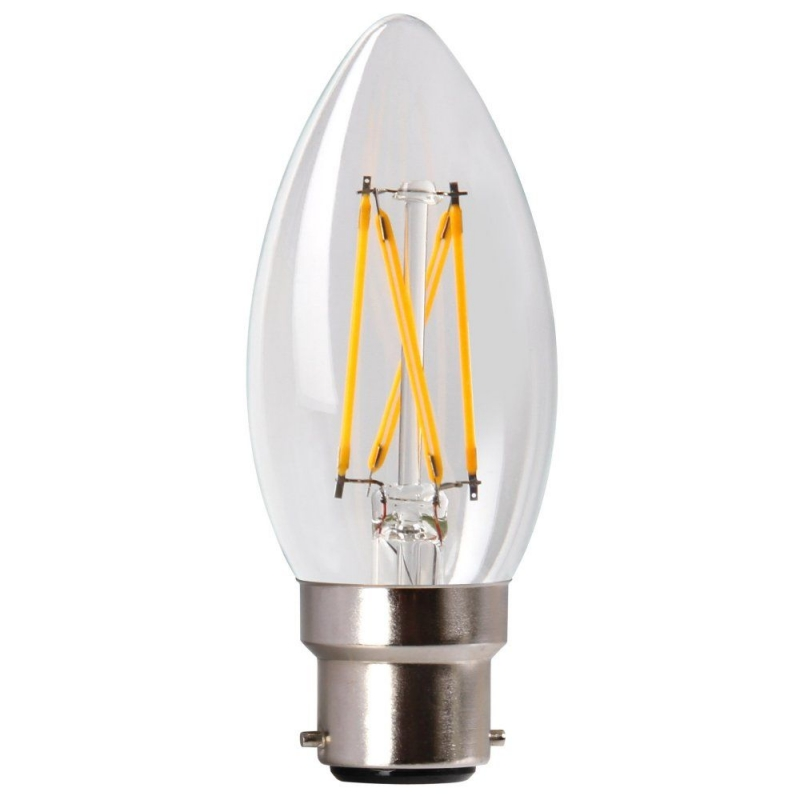 Amitex AX438 3.5W Dimmable Filament Candle lamp B22/BC 2700K