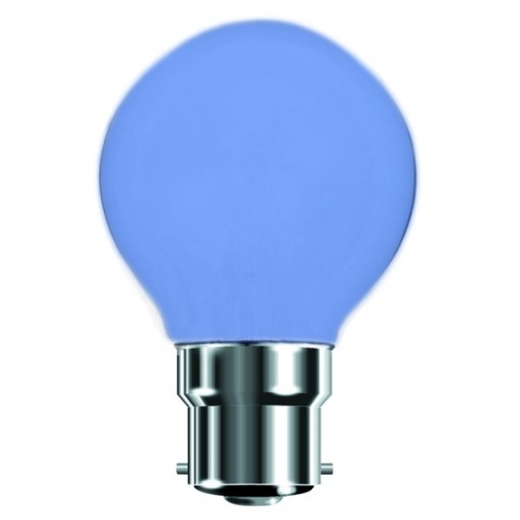 Blue 25W BC Incandescent Golf Ball Lamp B7450B