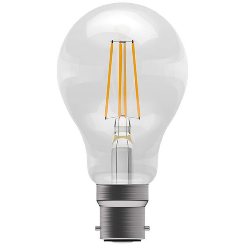 BELL 60061 4W Amber Coloured LED Filament GLS BC/B22 Bulb