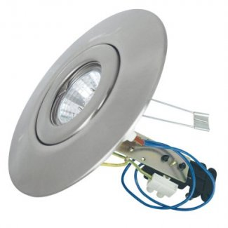 Satin Nickel GU10 Low Voltage Ceiling Converter CR80SN
