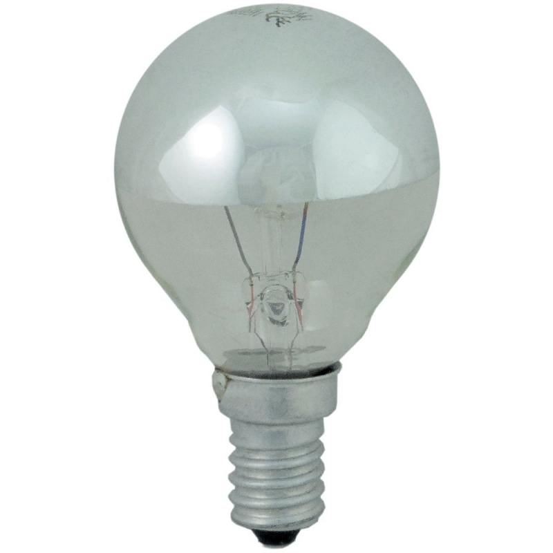 Crown Silver SES 25W Lamp