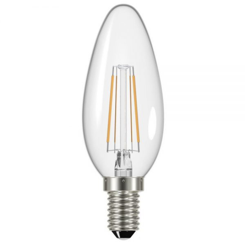 Status 240V 4W Dimmable LED Filament Candle SES/E14 2700K