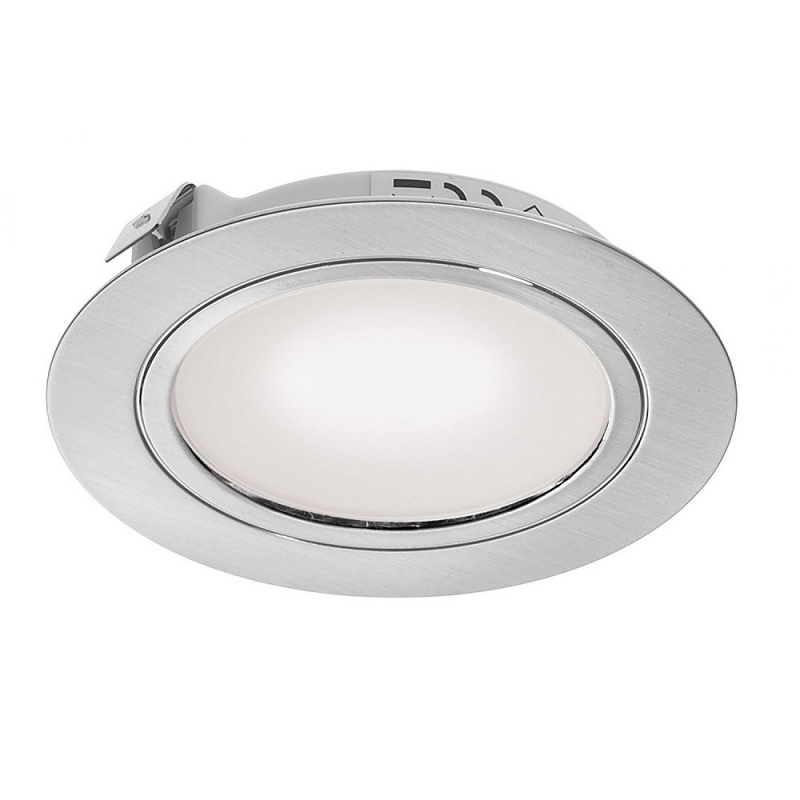 DLK-SS-WW 12v 2w LED Recessed Stainless Steel Downlight Frosted 3000k