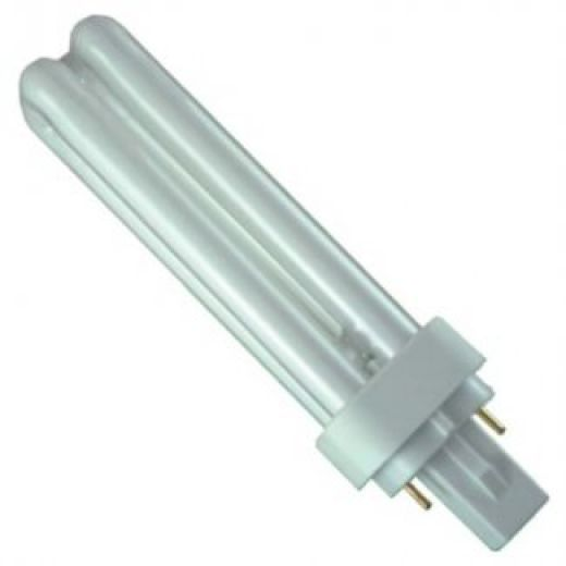 D-2 Pin Low Energy Fluorescent 13 Watt White