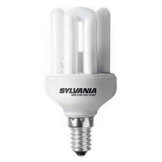 Sylvania 11w SES E14 Mini Lynx Fast-Start