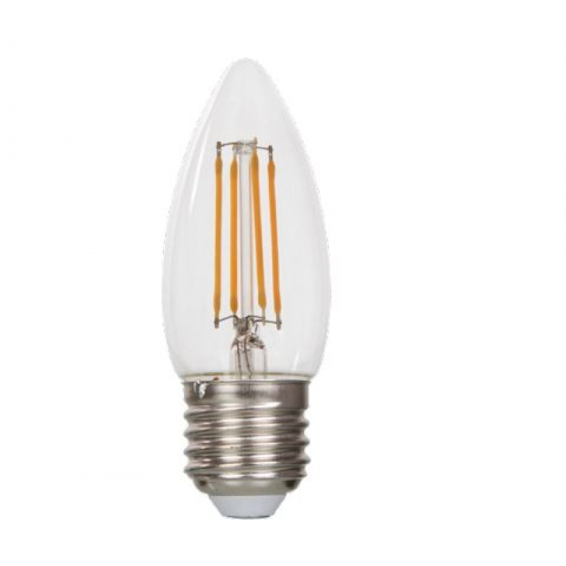 VLED Candle LED Filament 5w ES/E27 Dimmable FIL058
