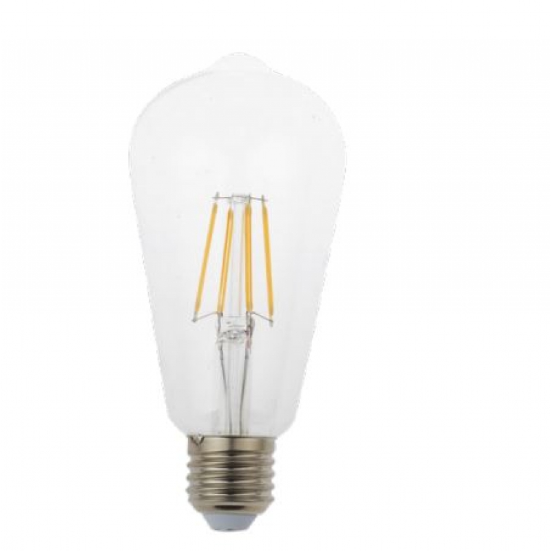 VLED ST64 Squirrel Cage LED Filament 5w ES/E27 Dimmable FIL070