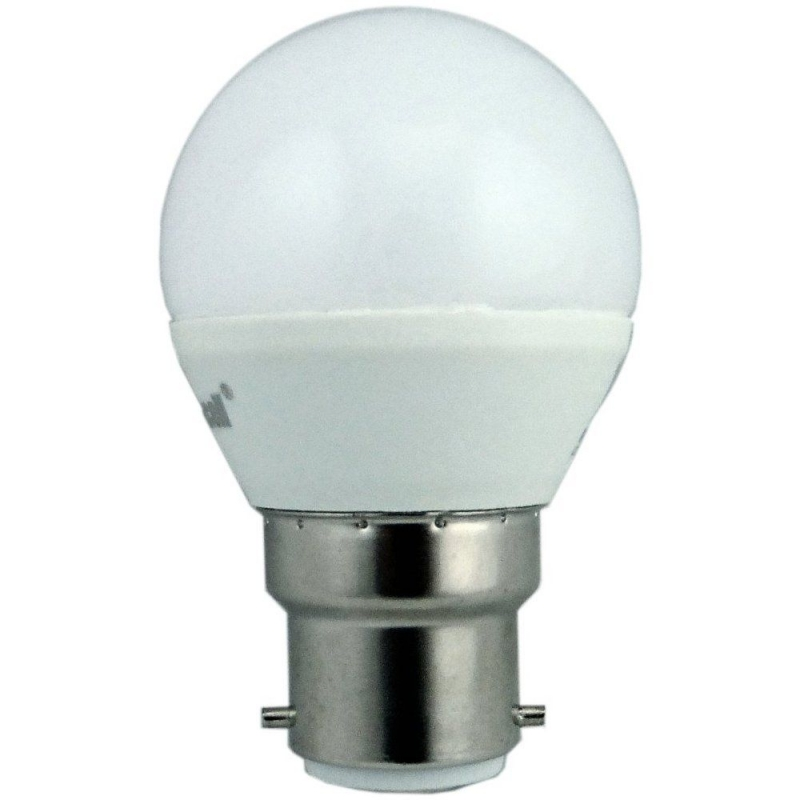 Supacell SLGPBC5 5W LED Golfball BC Opal Non-Dimmable