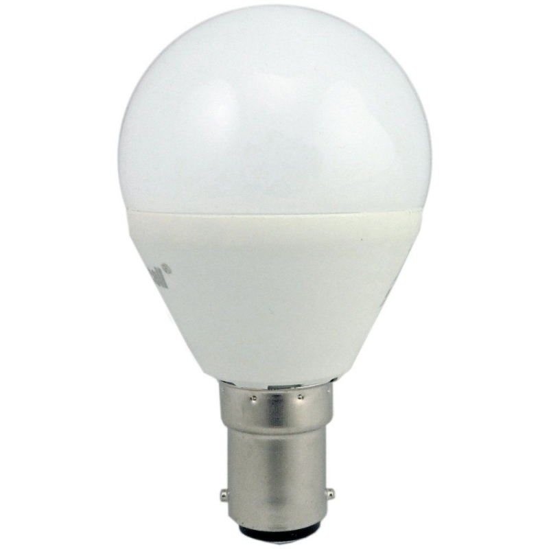 Supacell SLGPSBC5 5W LED Golfball SBC Opal Non-Dimmable