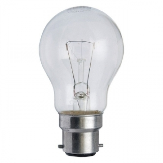 Clear GLS 40W BC-B22d 240V Light Bulb
