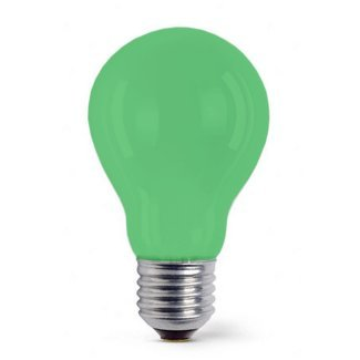 Colourglazed Standard GLS Green ES 25W Lamp