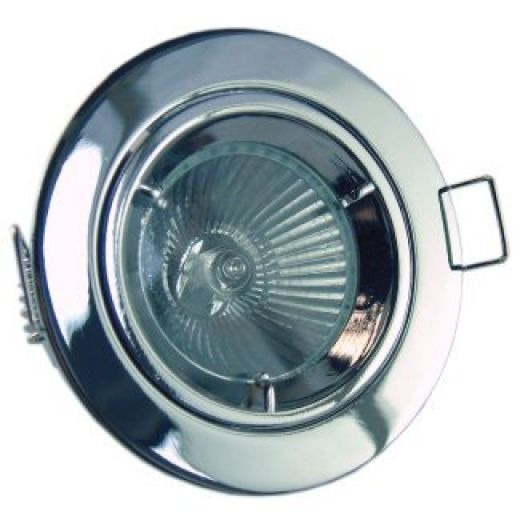 Cast Mains Downlights (GU10) Chrome