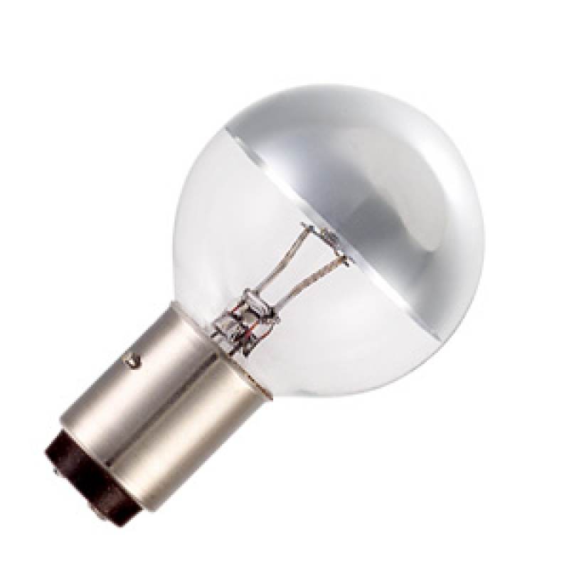 H018306 Operating Theatre Lamp 40W 24V Bx22d Crown Silver