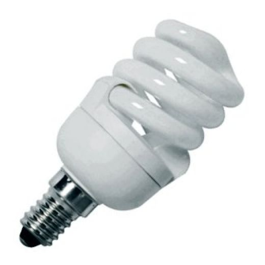CFL 9Watt SES 2700k Energy Saving Warmwhite Bulb