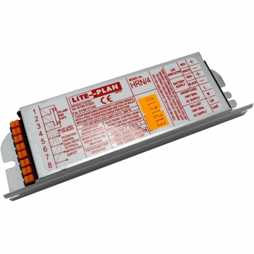 Lite-Plan HRN/ Emergency Module/Inverter To Power 1x4W-58W Lamp