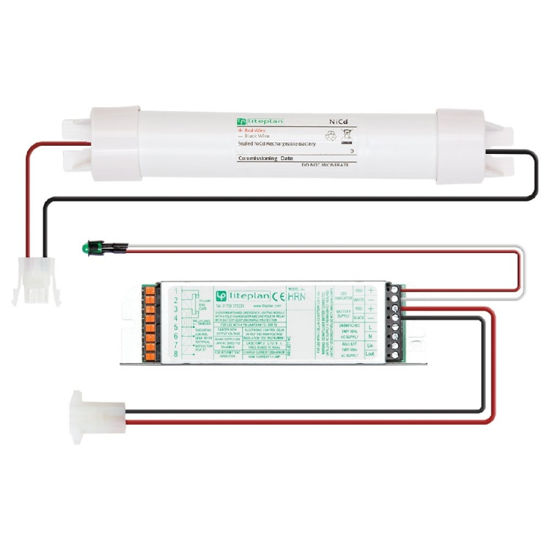 Lite-Plan Emergency Kit to power 1 x 4Watt to 58Watt lamp