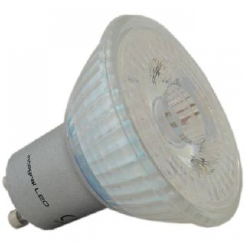 Integral LED Glass GU10 4.4W PAR16 4000K Non-Dim 34-37-15