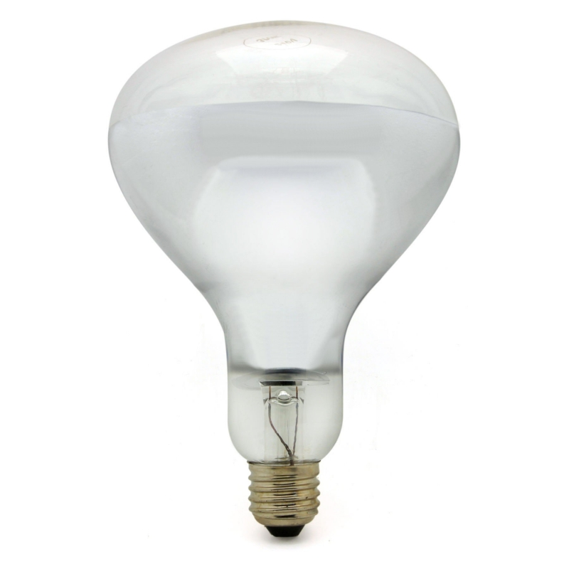 Infrared 150W E27/ES Clear Hard Glass Heat Light Bulb