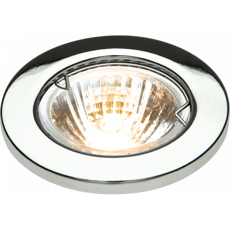 L02C1 Low Voltage Chrome Downlight with Bridge IP20