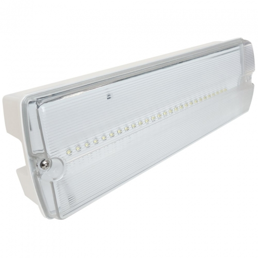 Eterna IP65 Emergency LED Maintained Bulkhead LEDEM3M