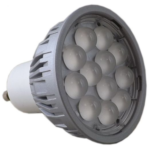 Crompton Non-dimmable 5W GU10 Cool White LED Spot light bulb