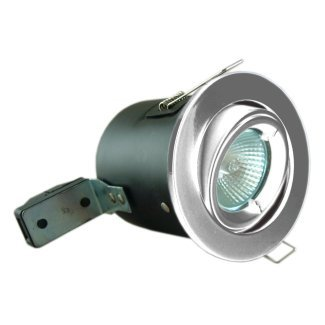Chrome Tilt Fire Rated Die Cast GU10 Downlight