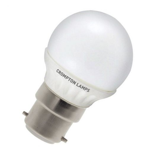 Crompton 4W BC Warmwhite Golf Ball LED LRBC4WW