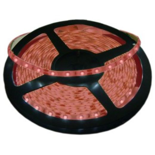 5 Metre Red IP20 12V LED Tape