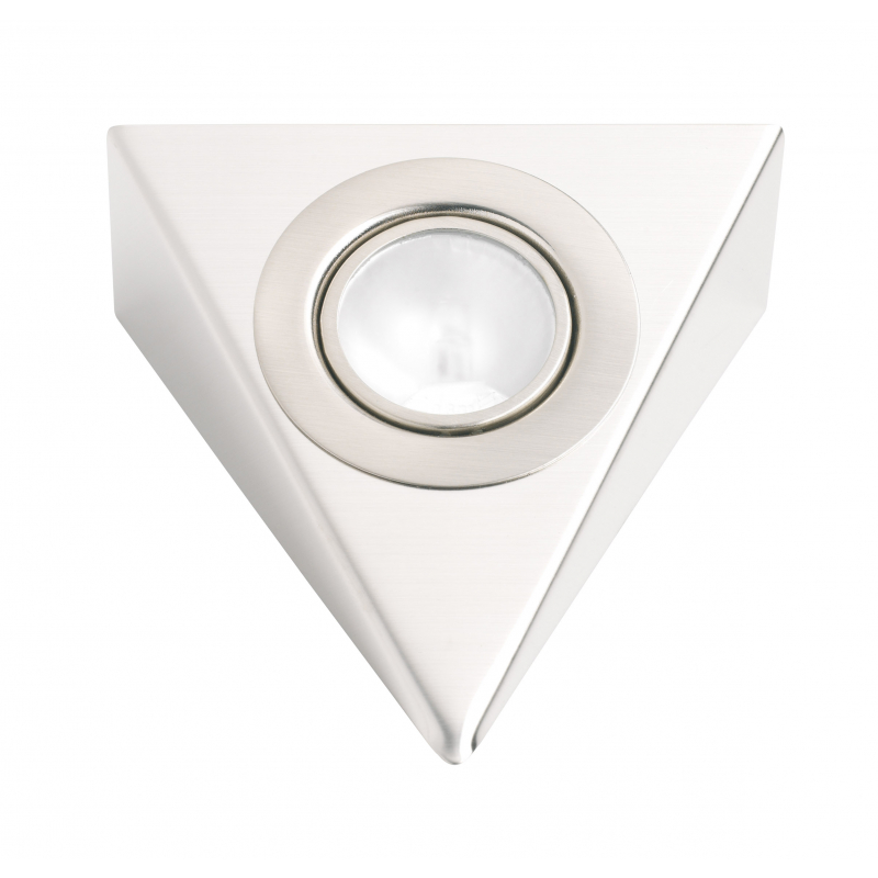 Low Voltage Triangle Undershelf Downlight Stainless Steel TRSS