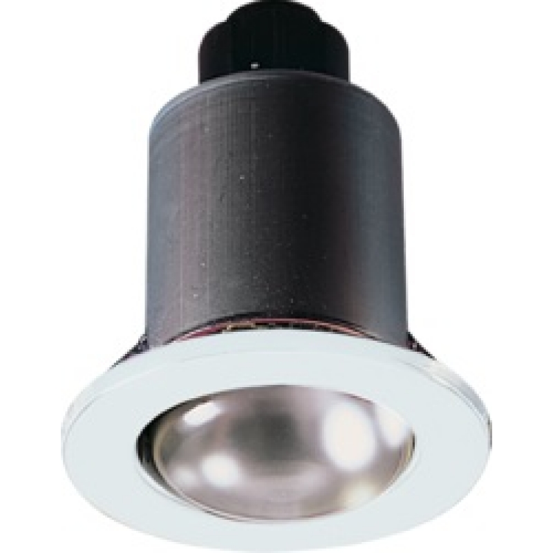 Knightsbridge White Fixed R63 Mains Voltage Downlight MD02W