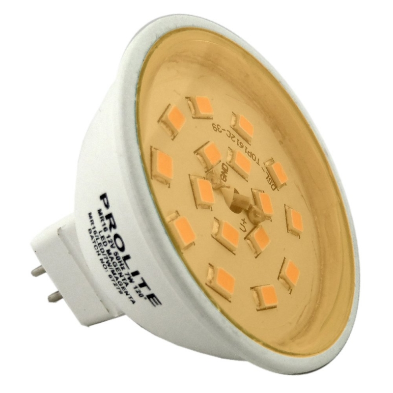 Prolite LED MR16 12V 7W Amber
