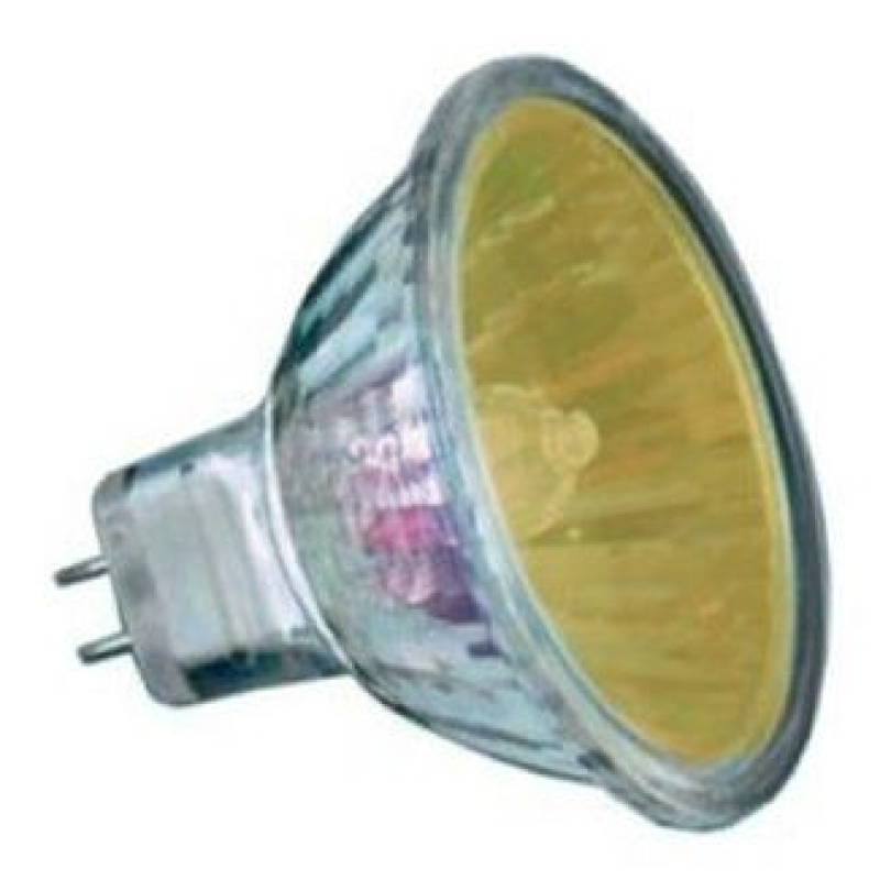20 Watt  2,000 Hour Yellow Low Voltage Dichroic Light Bulb