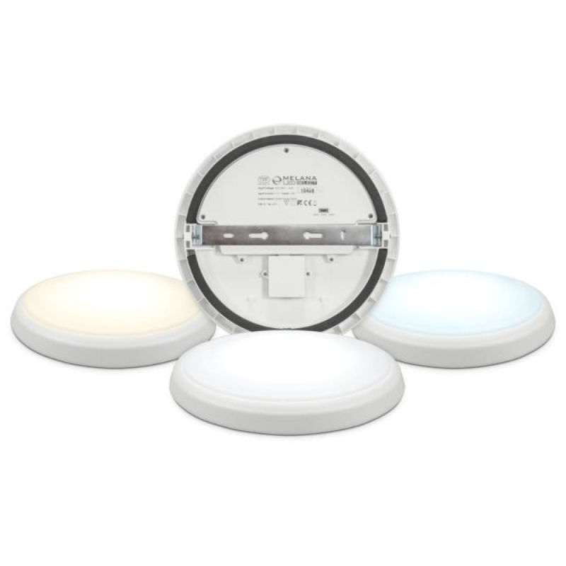 Melana 18W Tri Colour LED Bulkhead IP54 10468