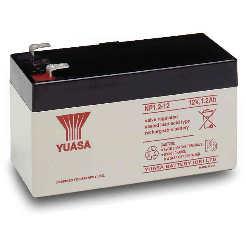Yuasa Sealed Acid Battery 12V 1.2ah
